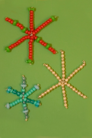 Middle School Holidays & Seasons Activities: Beaded Christmas Ornaments