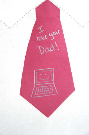 Third Grade Holidays & Seasons Activities: Personalized Father's Day Card