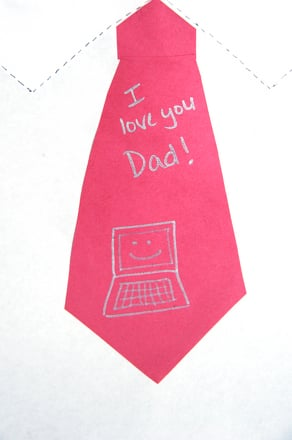 Third Grade Holidays Activities: Personalized Father's Day Card