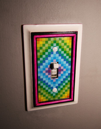 Preschool Arts & Crafts Activities: Decorative Light Switch Covers