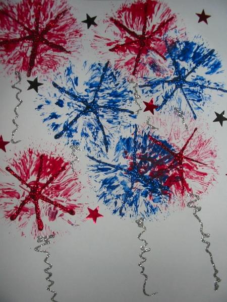 Kindergarten Holidays & Seasons Activities: Koosh Ball Painting