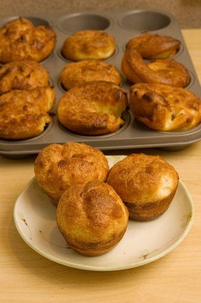 Second Grade Recipes Activities: Popover Recipe