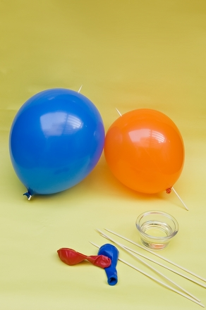 self inflating balloon experiment hypothesis