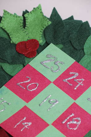 Kindergarten Math Activities: Christmas Countdown Calendar