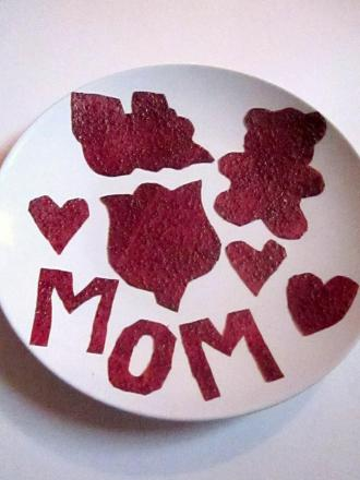 Second Grade Recipes Activities: Fruit Leather