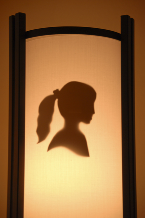 Make a silhouette portrait lamp shade activity education middle school arts crafts activities make a silhouette portrait lamp shade aloadofball