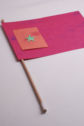 Third Grade Social Studies Activities: Make Your Own Flag!