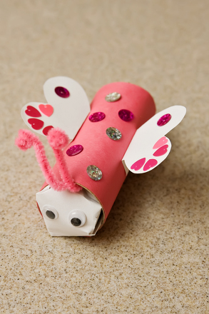 Second Grade Holidays Activities: Love Bug Craft