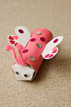 Second Grade Holidays & Seasons Activities: Love Bug Craft