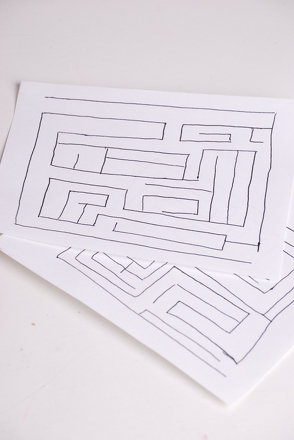 Fifth Grade Arts & crafts Activities: Book of Mazes