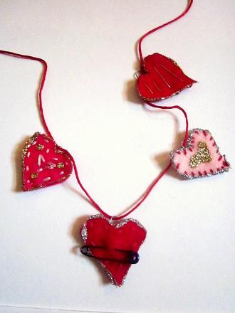Fifth Grade Arts & crafts Activities: Valentine's Day Charms