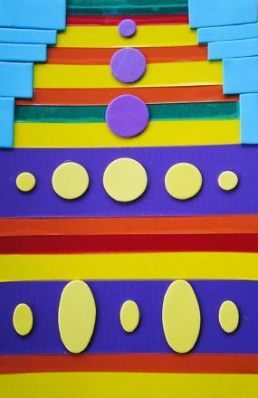 Fourth Grade Arts & Crafts Activities: Op Art Craft