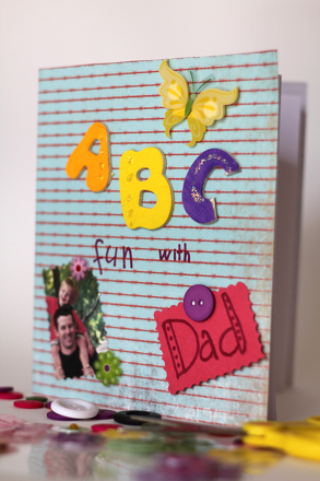 Preschool Holidays & Seasons Activities: ABC Book for Dad