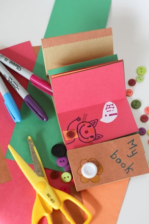 First Grade Reading & Writing Activities: Make a Paper Bag Book