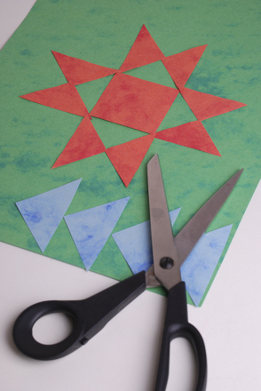 Second Grade Math Activities: Patchwork Placemats