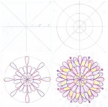 Fifth Grade Math Activities: Draw a Mandala