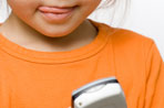 In today's wired world, cell phones for kids are equipped with cool features to ease worried parents.