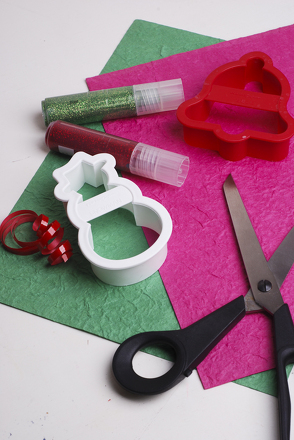 Middle School Holidays & Seasons Activities: Homemade Paper Christmas Ornaments