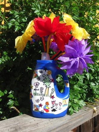 First Grade Arts & Crafts Activities: How to Make a Watering Can