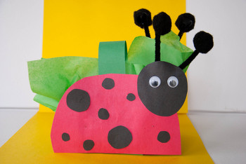Fourth Grade Seasons Activities: Ladybug Basket