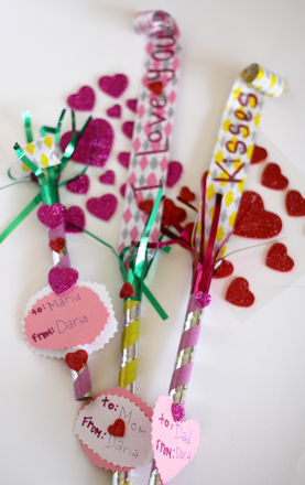 First Grade Reading & Writing Activities: Valentine Party Blower Messages
