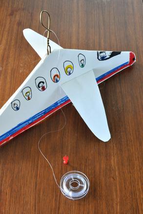 Third Grade Arts & Crafts Activities: Homemade Airplane