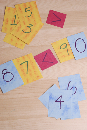 Second Grade Math Activities: Play the Number Sentence Game