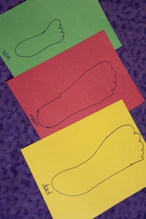 Kindergarten Math Activities: Foot Fun: A Measurement Activity