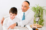 Here are some simple ways you can keep kids (and adults!) engaged during the Passover Seder.