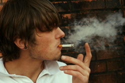 Teenage Smoking not Declining as Fast as Usual