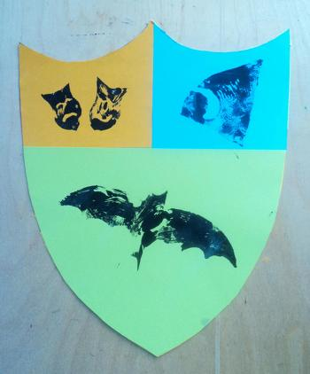 Fourth Grade Arts & crafts Activities: Make a Medieval Shield!