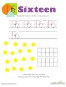 Worksheets Number 18 Numbers 17 2nd 3rd Grade Worksheet