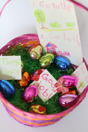 Preschool Holidays Activities: Easter Egg Scavenger Hunt