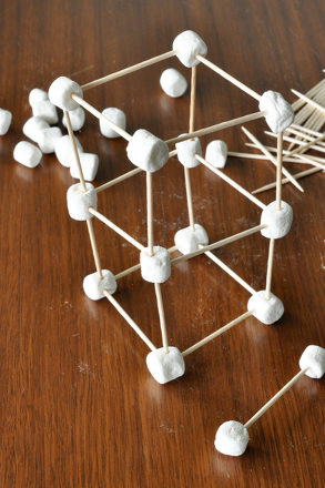 First Grade Arts & Crafts Activities: Build Up for an Edible Structure