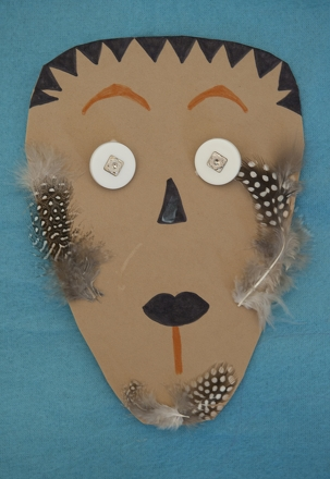 Fifth Grade Holidays & Seasons Activities: Make an African Mask