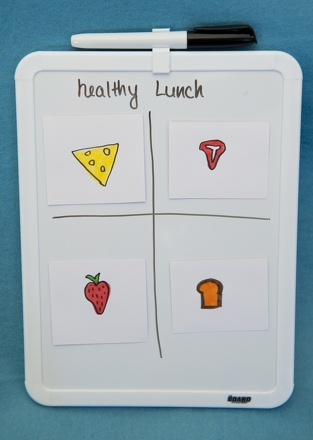 First Grade Holidays & Seasons Activities: Make a Lunchbox Magnet Board
