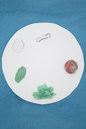 Kindergarten Holidays Activities: Seder Plate Craft