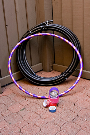 Middle School Offline Games Activities: Make Your Own Hula Hoop!