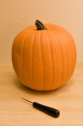 Preschool Seasons Activities: Pumpkin Shapes