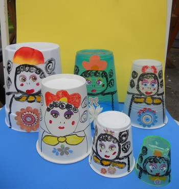 First Grade Arts Crafts Activities Russian Nesting Dolls