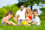 The sun is shining, the days are long and your child is...playing video games? If you're looking to get your kid to ditch the Wii in favor of outdoor summer games, all you need is a rubber ball and imagination.