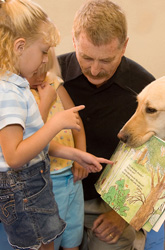 Dogs in the Classroom and Other Unusual Teaching Tools