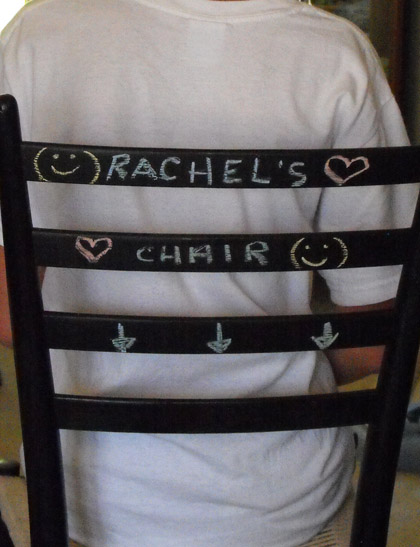 Second Grade Arts & crafts Activities: Chalkboard Furniture