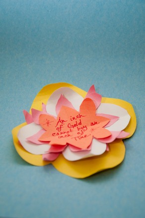 Fifth Grade Arts & crafts Activities: 3-D Flower Card