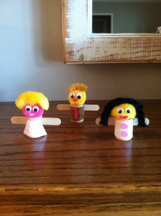 Second Grade Arts & crafts Activities: Wooden Doll Craft