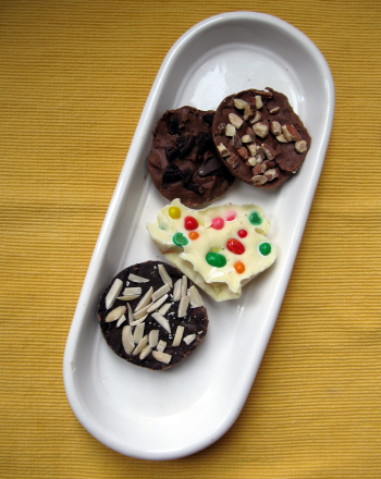 Second Grade Holidays & Seasons Activities: Chocolate Bark Recipes