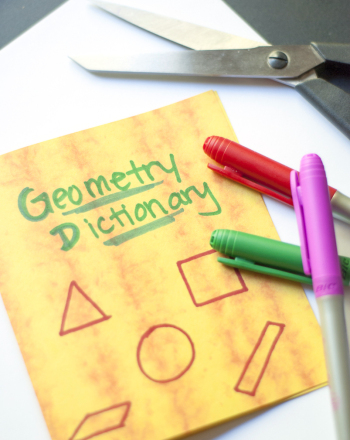 Fifth Grade Math Activities: Make a Geometry Dictionary