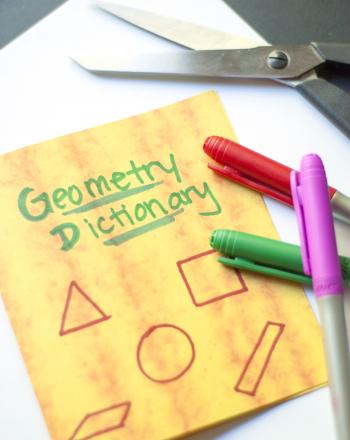 Fifth Grade Math Activities: Make a Geometry Dictionary