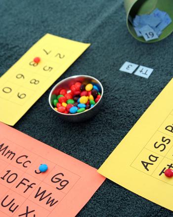 Homemade bingo cards activity education preschool reading writing activities homemade letter bingo spiritdancerdesigns Image collections