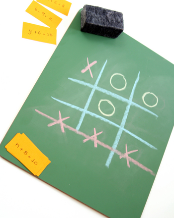 Fifth Grade Math Activities: Tic Tac Toe for Three Equations in a Row!